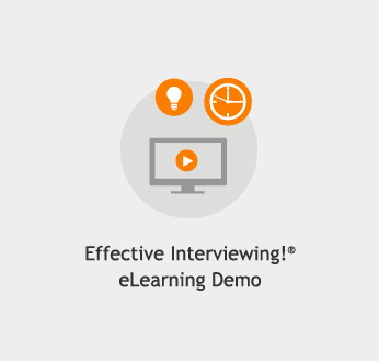 Effective Interviewing!® eLearning Demo