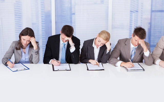 a panel interview that is not an effective team interview