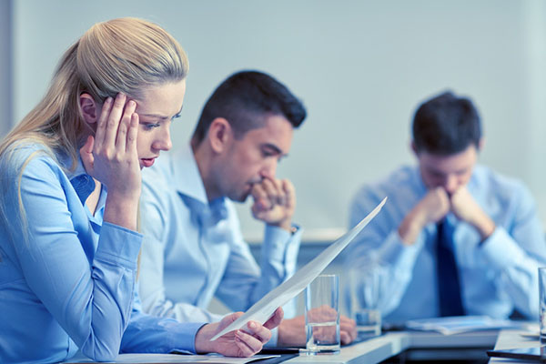 hiring manager and interview team realizing what hiring mistakes cost